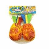 Juguete del juego del deporte para el agua o la playa, bola de la bomba de la esponja de Rocket