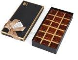 Het in het groot Vakje van de Gift van de Chocolade van het Karton van het Document van het Embleem van de Douane van de Luxe