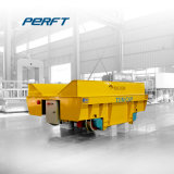 La industria del metal mediante ferrocarril Transporter carro con el sistema hidráulico de elevación