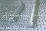 Горячим квадратным гальванизированная скринингом сетка волнистой проволки нержавеющей стали