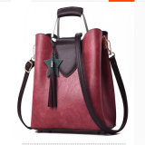Borsa di cuoio del progettista dei sacchetti di mano di modo