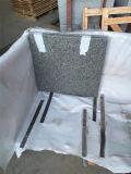 壁または床タイルのための安くまたは炎にあてられたインパラの灰色の花こう岩G603