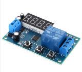 многофункциональный отметчик времени управлением приурочивая переключателя модуля релеего времени задержки 12/24VDC
