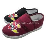 Les enfants de chaussures en toile de la magie d'injection chaussures occasionnel de bande de gros (ZL1219-2)
