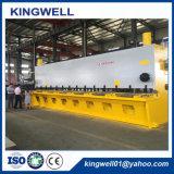 QC11K 16*8000 hydraulischer CNC-Guillotine-Ausschnitt-scherende Maschine