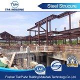Structure légère en acier préfabriqués personnalisé pour le grand bâtiment