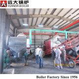 石炭または木生物量の餌によって発射される熱湯ボイラー