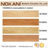 Azulejos de madera de la mirada de la porcelana impermeable para el material de Buiding del suelo