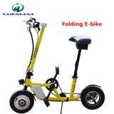 36V300W roda de dobramento da bicicleta dois que dobra a bicicleta elétrica