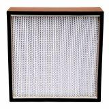 Filtro de alumínio do separador HEPA do frame 99.99% de madeira
