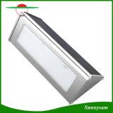 48 LEDs Lichten van de Muur van de Werf van de Tuin van 1000 Lumen de Openlucht Zonne