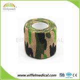 Le Camouflage Non-Woven Bandages cohésifs militaire de l'Armée de coton