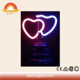 Оптовым светильники знака влюбленности подарка празднества подгонянные профессионалом неоновый