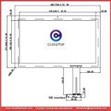 18.5 '' kapazitive Bildschirm-Fabrik mit kundenspezifischer Fähigkeit USB-Schnittstelle