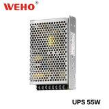 De Levering van de Macht van de Wisselaar van de Batterij van Weho UPS advertentie-55 55W
