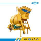 Tambor que mezcla el pequeño mezclador concreto para la planta de procesamiento por lotes por lotes concreta (JZC350)