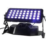 Rasha des heißen Verkaufs-wasserdichte 36*15W RGBWA 5in1 LED Stadt-Farbe Wand-Unterlegscheibe-des Licht-IP65 LED für Stadiums-Ereignis-Partei