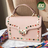 Novo Design Lady Sude Bag Mulher Candy Mala Girl sacos de mão com preço de fábrica Comercial Sy8639