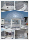 Dôme gonflable en PVC transparent clair gonflable tente igloo