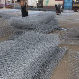 Cesta Twisted de Gabion do dobro