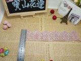 Mayorista de nuevo diseño de malla de nylon poliéster de bordado de encaje bordado recortar Fancy Net Accesorio para prendas de encaje