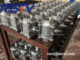 Aço inoxidável OEM 3PC 1000wog Válvula Esférica Roscada