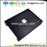 Amplificador para el alquiler de extrusión de aluminio anodizado y mecanizado de alojamiento con