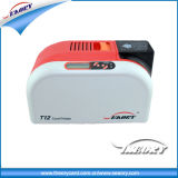 Impressora do cartão de Seaory T12 para o único cartão lateral térmico do código de barras