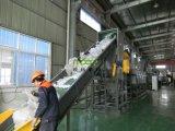 Máquina de reciclaje plástica enorme y tejida del polipropileno de los PP de los bolsos