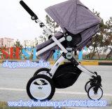Faltbares Pram-Kind-justierbarer Baby-Spaziergänger mit Auto-Sitz