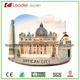 Наведите магнит холодильника смолаы государства Ватикан для сувенира, сделайте вашу собственную конструкцию