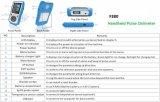 Medidor Handheld do alarme da ponta de prova da temperatura do oxímetro do pulso do sensor da criança SpO2, fotorreceptor, sangue Oximetro do pulso de 2.8 LCD, aprovaçã0 do Ce