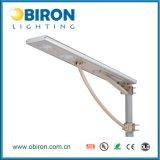 Lámpara de calle solar solar de 30W Aio