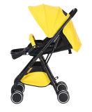 Neuer Entwurfs-Baby-Spaziergänger-hoher Landschaftsbabypram-Leder Yoya Sorgfalt-Baby-Spaziergänger