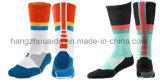 Bunte neueste strickende Mann-Mannschaft Sports Fußball-Socken