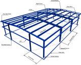 Los aceros estructura almacenan y de la red y la estructura de acero de los paneles de acero acanalados de la azotea