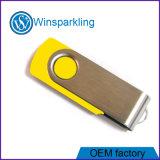 Promoción de giro caliente Unidad flash USB con Logo
