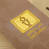 Вкладыши белой бумаги логоса персонализированные печатание для еды