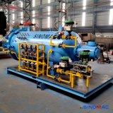 1000x2000mm Autoclave composto de automação completa para uso laboratorial