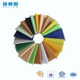 écrans antibruits de fibre de polyester d'épaisseur de 18mm, panneau ignifuge pour le mur et plafonds