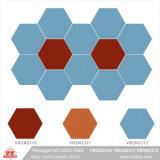 Parete della porcellana esagonale del materiale da costruzione e mattonelle di pavimento di ceramica (VR2N2310/VR2N2311/VR2N2312, 200X230mm/8 '' x9 '')