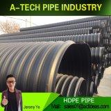 PE100 HDPE пластиковую трубку для слива воды системы
