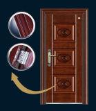 2017良質の鋼鉄安全機密保護の鋼鉄鉄の外部ドア