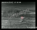 Меры предупреждения пожара Длинный диапазон тепловой обработки изображений камеры