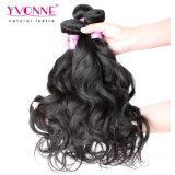 Yvonne-heißes Verkäufe Remy Haar-natürliche Wellen-Menschenhaar-Webart