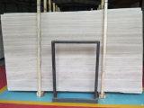 Chenille Polished/smerigliatrice/antico bianco, vena di legno bianca, mattonelle di marmo di Serpeggiante