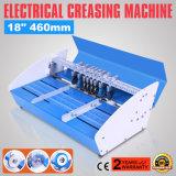 Nuevo Metal 3in1 Electric Portada del libro de la tarjeta de la máquina de plegado de papel plegado de papel de corte de línea de puntos