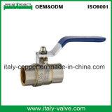 Certificação CE Forjados Válvula de Esfera de cobre com pega (AV10056)