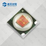 Luz de color rojo oscuro barata vendedora caliente del color del poder más elevado 640-660nm LED del precio 1-3W