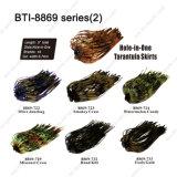 Hot Sale Jupe en silicone avec différents choix de couleurs Bti-8869 Tarantula jupes